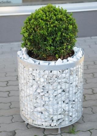 image produit Gabion Cylindre Diam 31 cm x Hauteur 31 cm