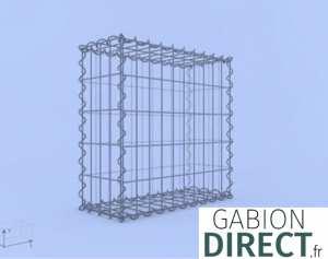 image produit Gabion 50 cm longueur x 50 cm hauteur x 50 cm profondeur